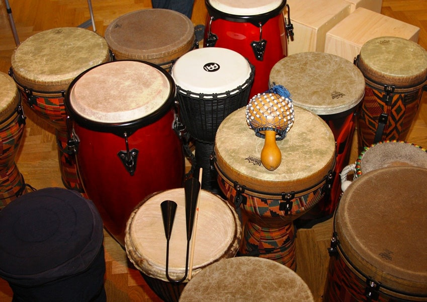 empm musique - cours individuel djembes
